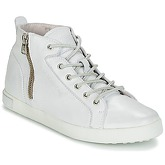 Blackstone  NL65  women's Shoes (High-top Trainers) in White