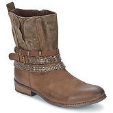 Best Mountain  CAVRIO  women's Mid Boots in Brown