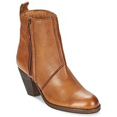 Dune  PLATTER  women's Low Ankle Boots in Brown