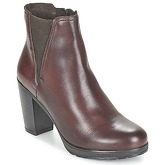 Casual Attitude  FENELLA  women's Low Ankle Boots in Brown