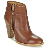 Casual Attitude  EROU  women's Low Ankle Boots in Brown