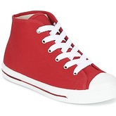 Yurban  EWAXIME  women's Shoes (High-top Trainers) in Red