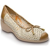 Drucker Calzapedic  BUFALO  women's Court Shoes in Beige