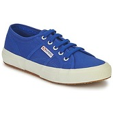 Superga  2750 CLASSIC  women's Shoes (Trainers) in Blue