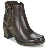 Casual Attitude  IXINE  women's Low Ankle Boots in Brown