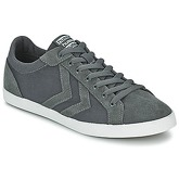 Hummel  DEUCE COURT CANVAS LO  women's Shoes (Trainers) in Grey