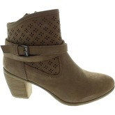 Carmela  65471  women's Low Ankle Boots in Beige