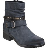 Divaz  West  women's Low Ankle Boots in Blue