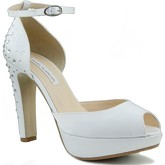 Angel Alarcon  Wedding Shoes  women's Court Shoes in White
