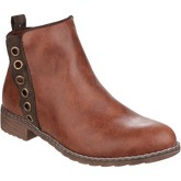 Divaz  Demi  women's Low Ankle Boots in Brown