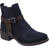 Divaz  Ivana  women's Low Ankle Boots in Blue