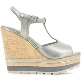 Apepazza  FRT22 Wedge sandals Women Silver  women's Sandals in Silver