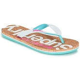 Superdry  CORK COLOUR POP FLIP FLOP  women's Flip flops / Sandals (Shoes) in White