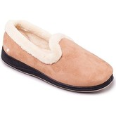 Padders  Repose Womens Fully Lined Slippers  women's Slippers in Beige