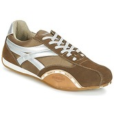 Bunker  F-1  men's Shoes (Trainers) in Brown