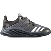 adidas  BA7884 Sport shoes Kid Black  men's Trainers in Black
