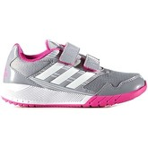 adidas  BA7917 Sport shoes Kid Grey  men's Trainers in Grey