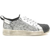 Holalà  Holalà HS030001S Sneakers Kid Silver  men's Shoes (Trainers) in Silver