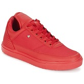 Cash Money  CASE  men's Shoes (Trainers) in Red