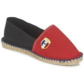 1789 Cala  CLASSIQUE BICOLORE  men's Espadrilles / Casual Shoes in Red