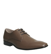 Office Glide Plain Toe CHOC LEATHER