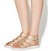 Office Brody Gladiator Sandal NUDE