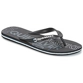 Quiksilver  MOLOKAI NITRO M SNDL XKKB  men's Flip flops / Sandals (Shoes) in Black
