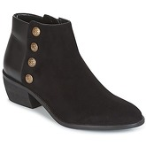 Dune  PANELLA  women's Low Ankle Boots in Black