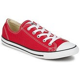 Converse  ALL STAR DAINTY OX  women's Shoes (Trainers) in Red
