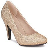 Moony Mood  BALIA  women's Court Shoes in Gold