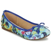 Moony Mood  EVIANITA  women's Shoes (Pumps / Ballerinas) in Blue
