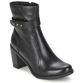 Moony Mood  ARLAK  women's Low Ankle Boots in Black