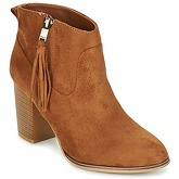 Only  BRYCE  women's Low Boots in Brown