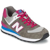 New Balance  WL574  women's Shoes (Trainers) in Grey