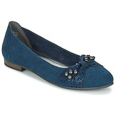 Marco Tozzi  MOGALIKA  women's Shoes (Pumps / Ballerinas) in Blue