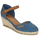 Dockers by Gerli  TIRONY  women's Court Shoes in Blue