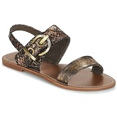 LPB Shoes  PERVENCHE  women's Sandals in Gold
