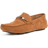 Reservoir Shoes  Moccasin with square toe PEDRO Camel Man Perm  women's Loafers / Casual Shoes in Brown