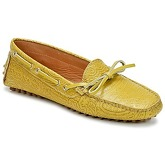 Etro  MOCASSIN 3773  women's Boat Shoes in Yellow