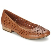 Clarks  HENDERSON SILK  women's Shoes (Pumps / Ballerinas) in Brown