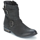 Best Mountain  CRINORI  women's Mid Boots in Black