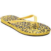 Zonkepai   Sunshine  Flip-flops FELINE Yellow Woman Spring/Summer Collection  women's Flip flops / Sandals (Shoes) in Yellow