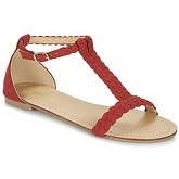 Moony Mood  GEMINIELLE  women's Sandals in Red
