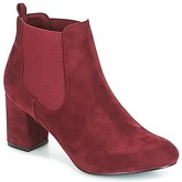 Spot on  MANIA  women's Low Ankle Boots in Red