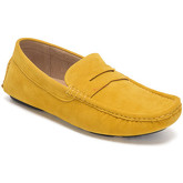 Reservoir Shoes  Moccasins suede look to put on M3075-Q RAUL Yellow Man Perm  men's Loafers / Casual Shoes in Yellow