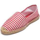 Reservoir Shoes  Printed espadrilles ESPA Vichy Red Unisex Perm  men's Espadrilles / Casual Shoes in Red