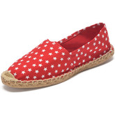 Reservoir Shoes  Printed espadrilles ESPA Stars Red Unisex Perm  men's Espadrilles / Casual Shoes in Red