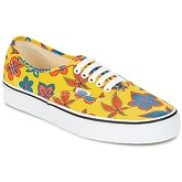 Vans  UA AUTHENTIC  men's Shoes (Trainers) in Yellow