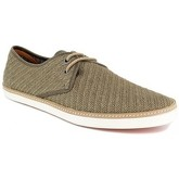 Peter Blade  Derby  Kaki Leather VALERA  men's Espadrilles / Casual Shoes in Green