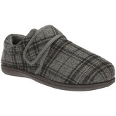 Clarks  King Strap Mens Check Slippers  men's Slippers in Multicolour